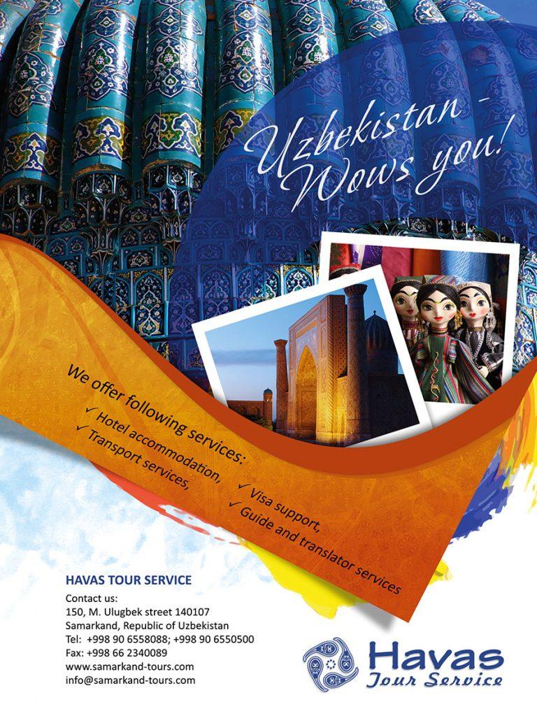 HAVAS TOUR SERVICE, Samakand, Uzbekistan